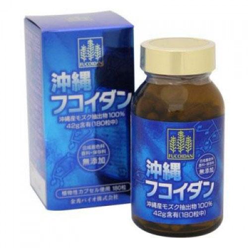 Okinawa Fucoidan Kanehide Bio 180 viên