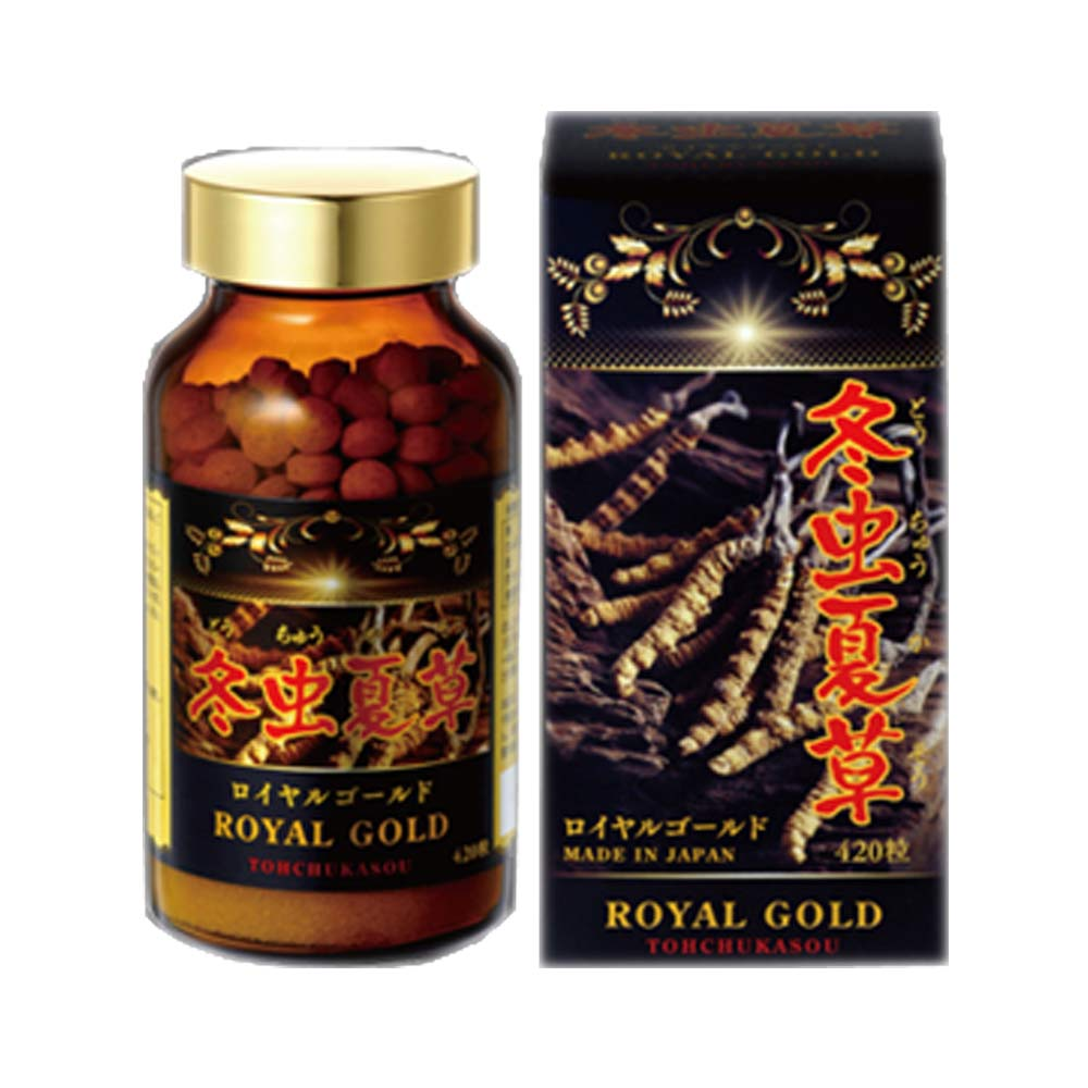 Đông trùng hạ thảo Tohchukasou Royal Gold cao cấp Nhật Bản