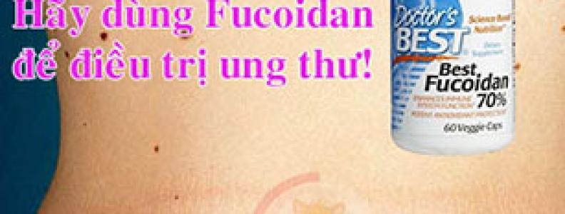 Thuốc Fucoidan chữa ung thư da